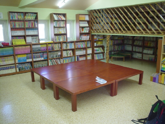 철암어린이도서관내부모습